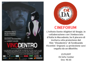 CINEFORUM 6 Vinodentro invito it.