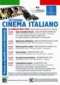 Week of the Italian Cinema Programme